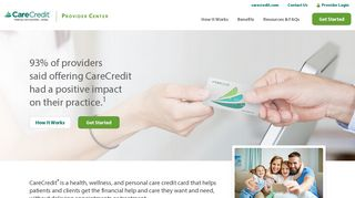 Carecredit Provider Portal
