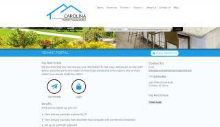 Carolina United Realty Tenant Portal