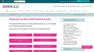 Ccrm Patient Portal