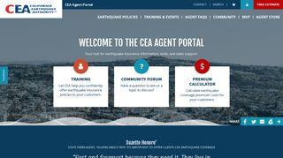 Cea Agent Portal
