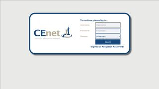 Cenet Userapp Password Reset Portal