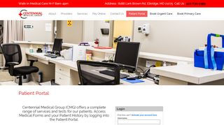 Centennial Medical Group Portal