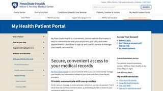 Cerner Health Portal