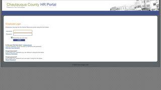 Chautauqua County Employee Portal