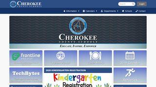Cherokeek12 Org Parent Portal