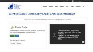 Chicago Parent Portal