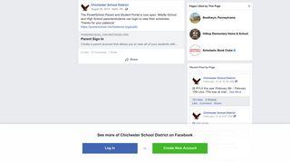 Chichester School District Parent Portal