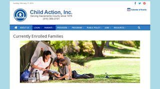 Child Action Parent Portal