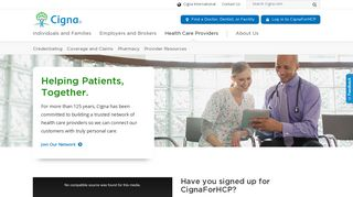 Cigna Supplemental Provider Portal
