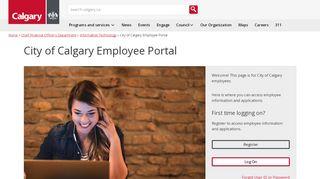 City Of Calgary Employee Portal