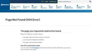 City Of Edmonton Employee Portal