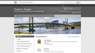 City Of Portland Employee Portal