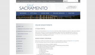 City Of Sacramento Citizen Portal