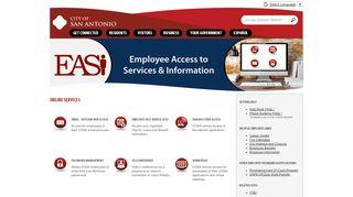 City Of San Antonio Employee Portal