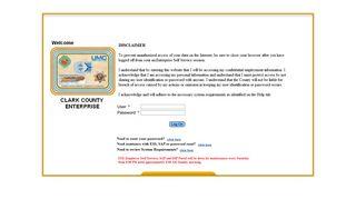 Clark County Employee Portal
