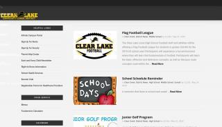 Clear Lake Portal