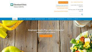 Cleveland Clinic Employee Health Portal