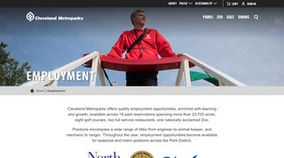 Cleveland Metroparks Employee Portal