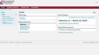 Cmc Student Portal