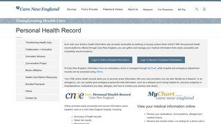 Cnme Patient Portal