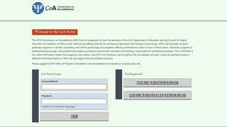 Coa Web Portal