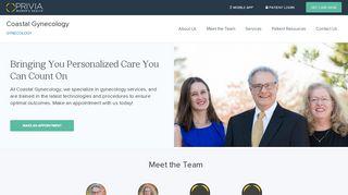 Coastal Gynecology Patient Portal