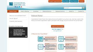 Coastal Medical Portal