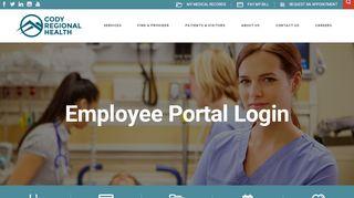 Cody Regional Health Employee Portal
