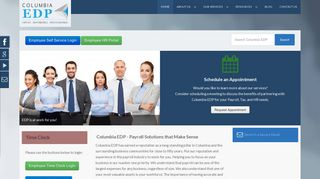Columbia Edp Employee Portal