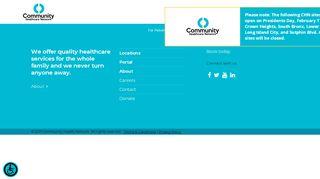 Community Healthcare Network Portal