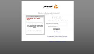 Conduent Vendor Portal