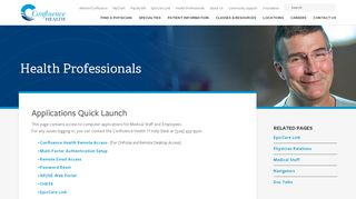 Confluence Health Employee Portal