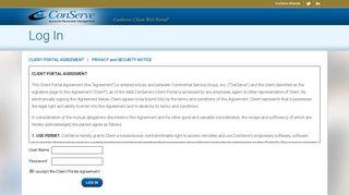 Conserve Web Portal