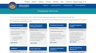 Cook County Employee Portal