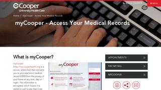 Cooper Hospital Portal