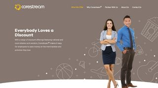 Corestream Employee Discount Portal