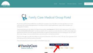 Cortland Health Center Patient Portal