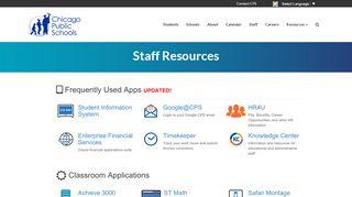 Cps Employee Portal