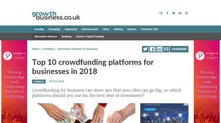 Crowdfunding Portals Uk