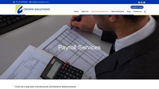 Crown Solutions Employee Portal