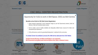 Csc Skill Portal