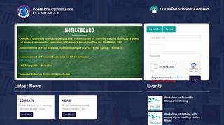 Cuonline Student Portal