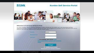 D Link Service Portal