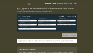 D Web Portal