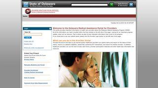 Delaware Medicaid Provider Portal