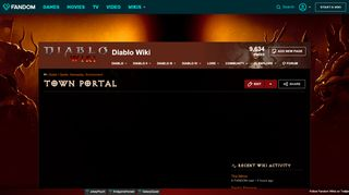 Diablo 1 Portal Screen