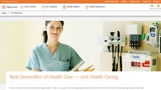 Dignity Health Provider Portal
