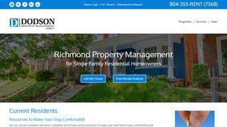 Dodson Property Management Portal