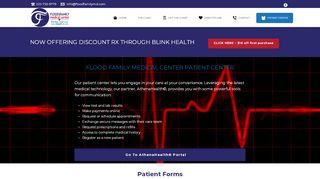 Dr Flood Patient Portal