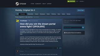 Dream Portal Arx